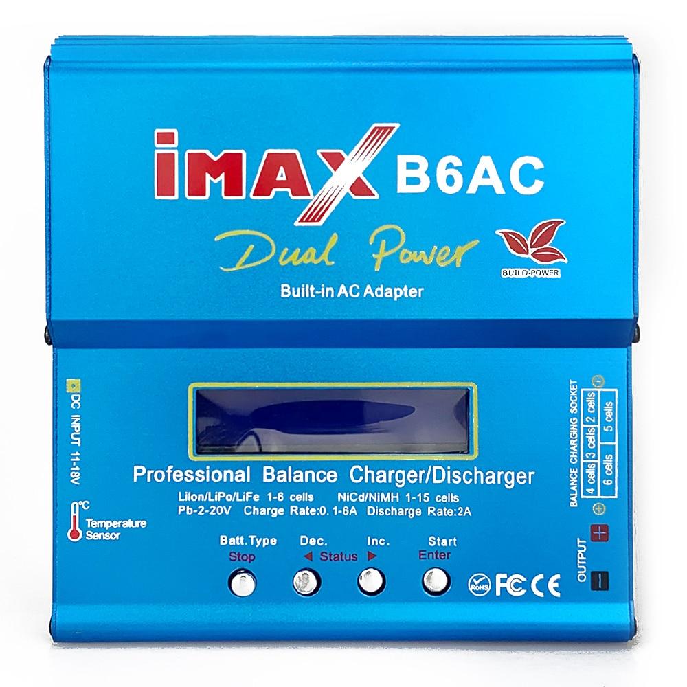 FLYPOWER iMAX B6AC Lipo Charger 12V 6A 80W for Lipo NiMh Li-ion Ni-Cd Battery Balance Charger Discharger