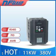 Convertisseur de fréquence de contrôle vectoriel convertisseur de fréquence variable triphasé 380V pour moteur 7.5kw/11kw entraînement de fréquence ca