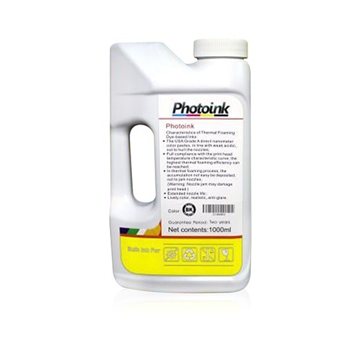 Tinta amarilla Brother compatible de 1000 ml para impresoras (tinta inteligente PHOTOINK)-T300/T310/T500/T510/T800/T810/T910