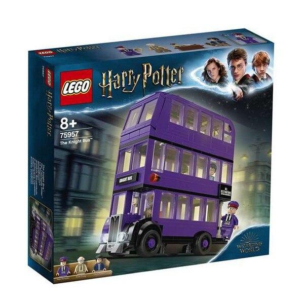 Playset harry potter cavaleiro ônibus lego (403 peças)