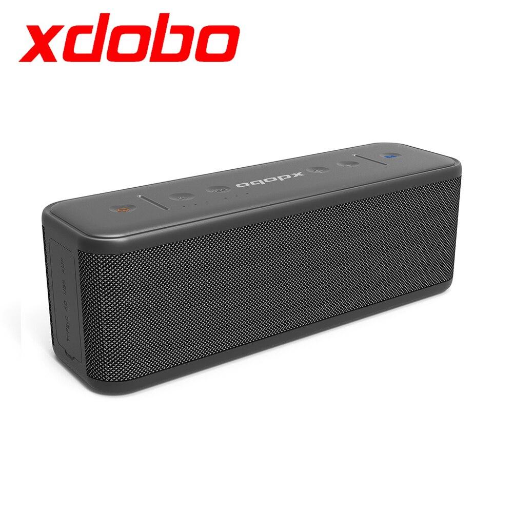 2021 Xdobo جديد وصول Gentleman 1992 المحمولة سماعة لاسلكية تعمل بالبلوتوث العميق باس مضخم الصوت العمودي مع الرياضة الموسيقى IPX5 مقاوم للماء