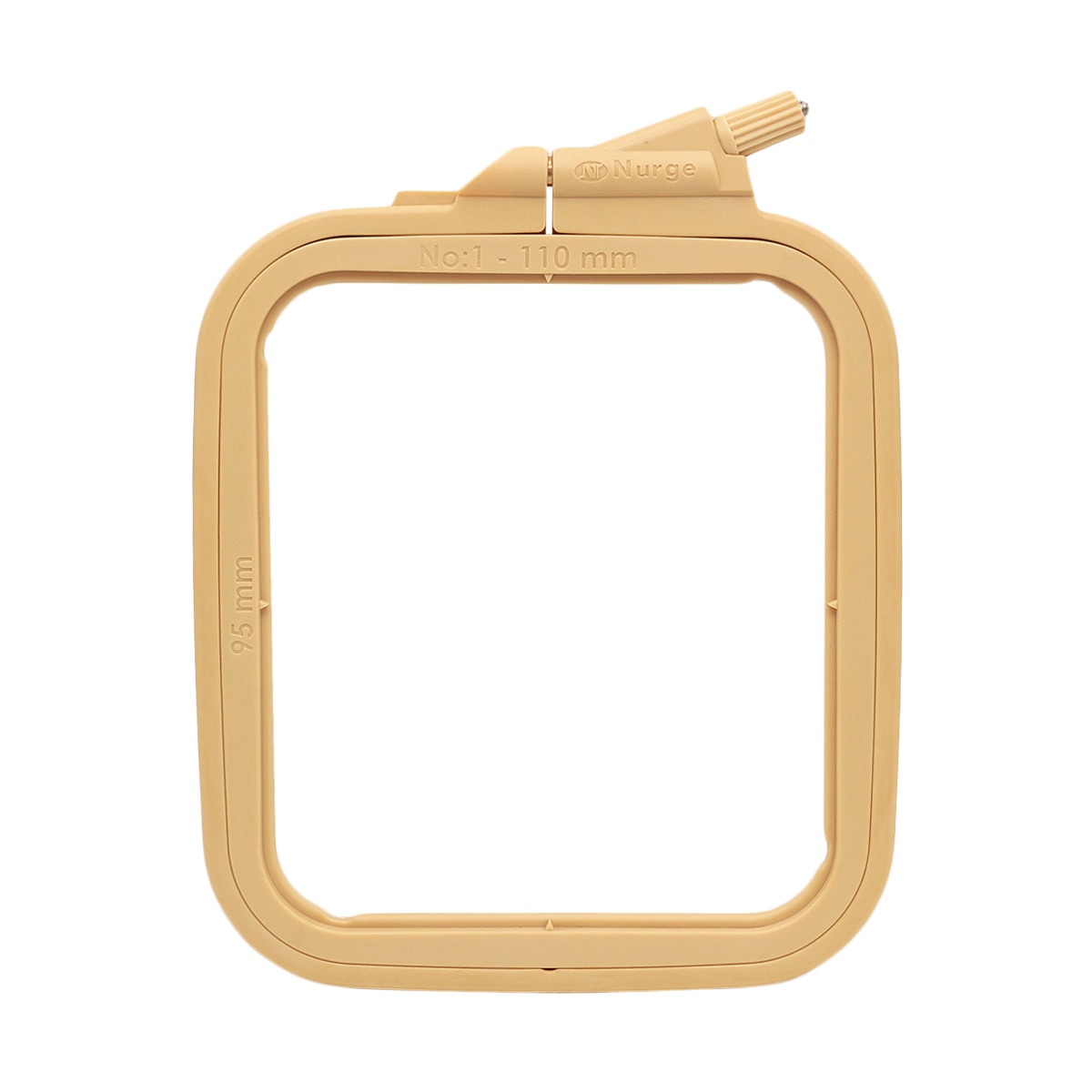 170-11 piglets plastic square with screw 9,5*11 cm nurse hobby