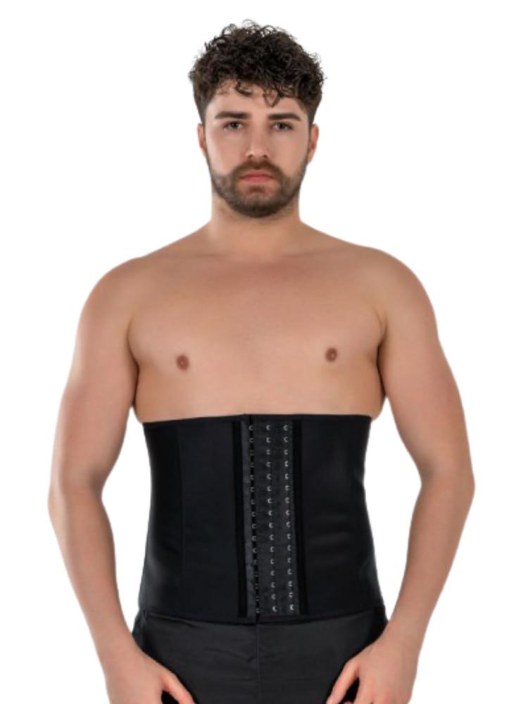 Yamuna Men Corset Trainer Weist Cotton Body Shaper Tummy Control Belt Sauna Slimming Strap Fitness Sweat Shapewear Fat Burner