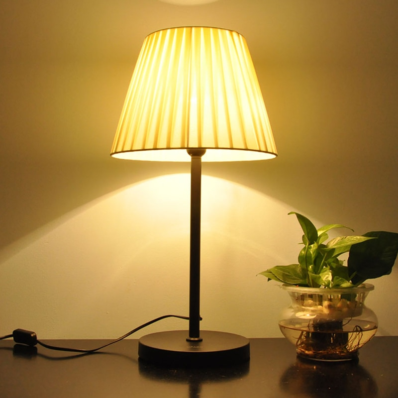 MPADQ-مصباح زخرفي بسيط led ، مصباح طاولة لغرفة نوم البنات ، عنبر ، ضوء دافئ