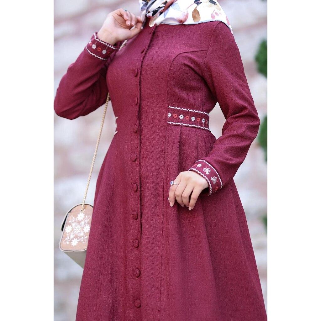 SUEM/новый сезон; Женская длинная одежда с вышивкой