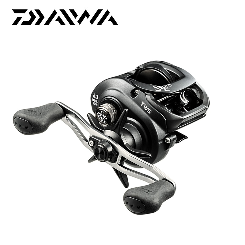 DAIWA Tatula 100 150 200 300 Soft Touch Knobs 6.3:1 7.3:1 Gear Ratios In Left or Right Hand Crank Saltwater Baitcasting Reel