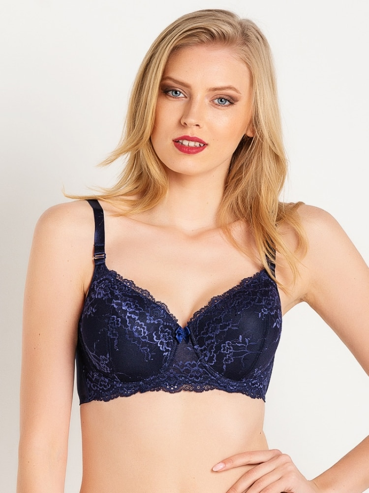 Magic Form Oversized Compression Bra With Lace Thin Sponge And Underwire