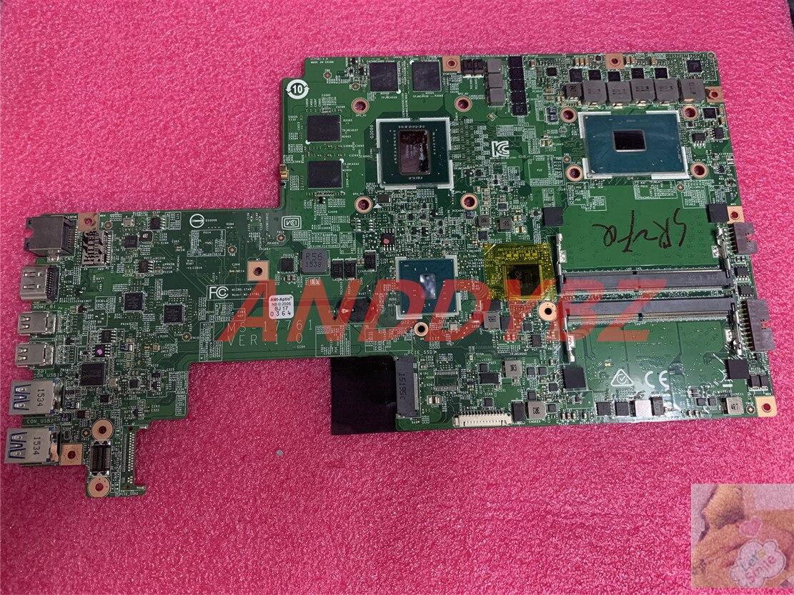 MS-17761 VER 1.0 ل MSI MS-1776 GS70 GS72 اللوحة الأم للكمبيوتر المحمول مع I7-6700HQ و GTX965M 100% العمل OK