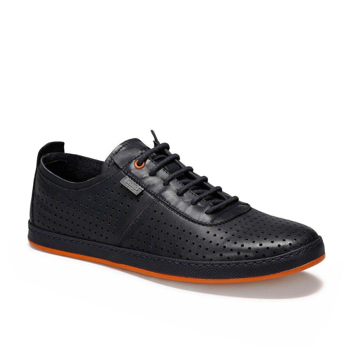 Flo 226201 sapatos de conforto masculino preto por dockers the gerle
