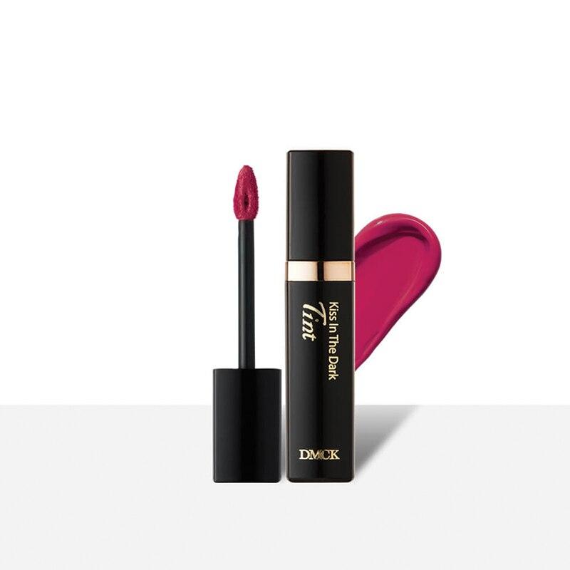 Labios Tint - Kiss en el tinte oscuro fucsia reina DMCk duradero impermeable labial líquido humectante maquillaje Corea cosmético