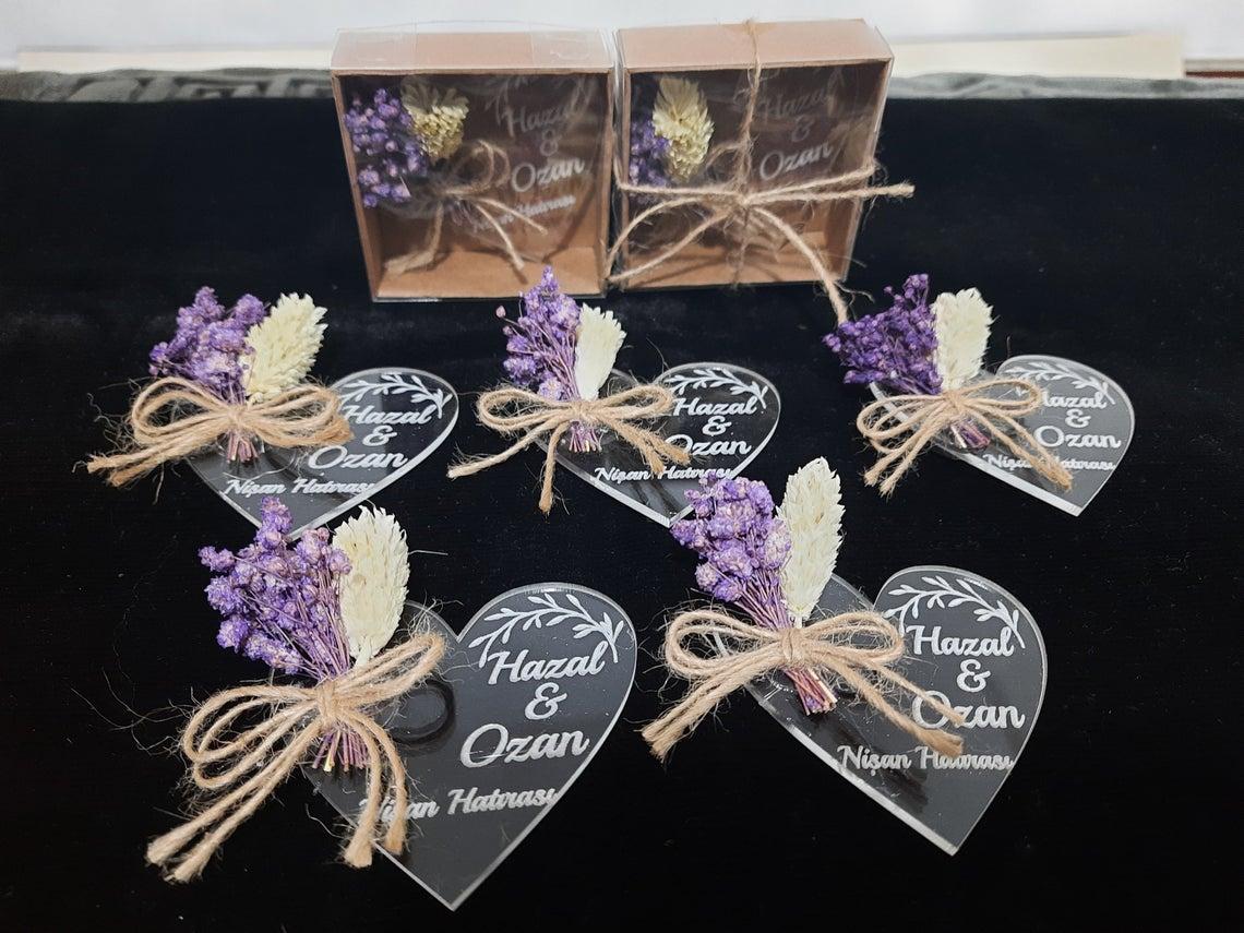 50 шт., свадебные сувениры для гостей оптом