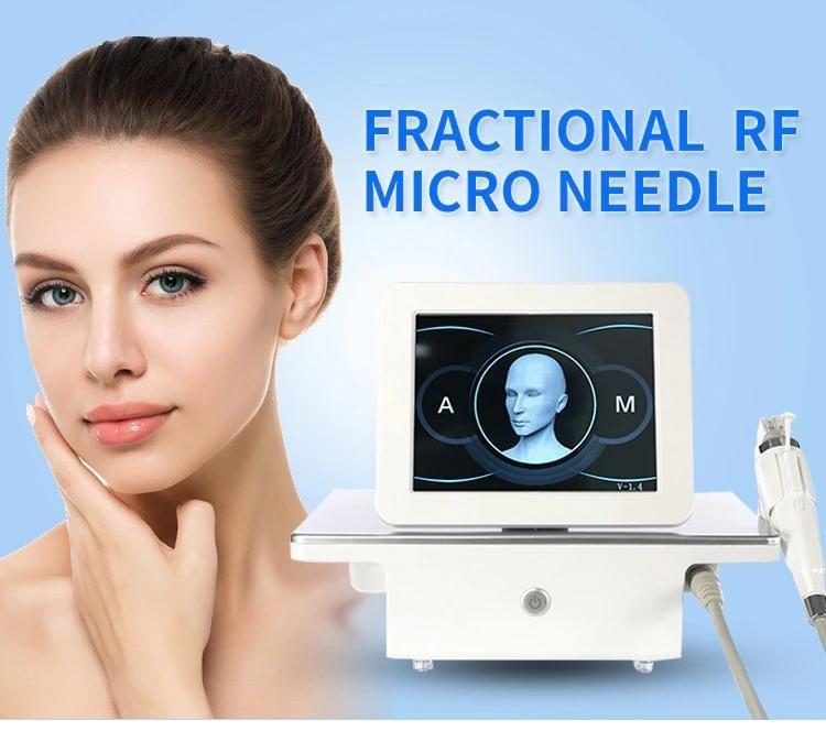 2021 RF Fractional micro-needle beauty machine anti-acne skin lifting anti-wrinkle spa equipment
