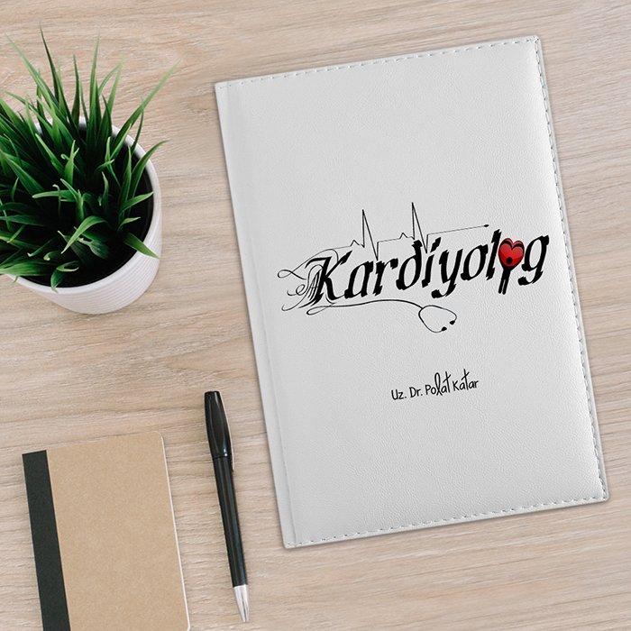 منظم من الجلد الأبيض 2020 Kadiyolog احترافي مخصص