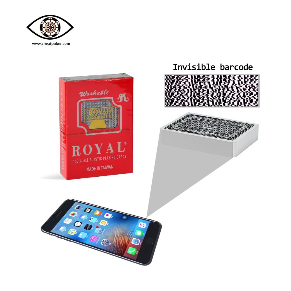 Фото - Royal Marked Playing Cards for Poker Analyzer Plastic Board Game Anti Cheating Mark Card Magic Tricks Decks mark harlan winning at internet poker for dummies