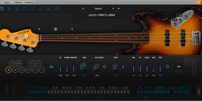Ample Bass Jaco Fretless v3-2-0 WiN-MAC