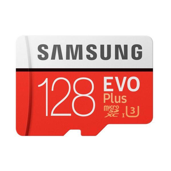 Tarjeta Micro SD Samsung EVO Plus MB-MC128G 128 GB Rojo Blanco