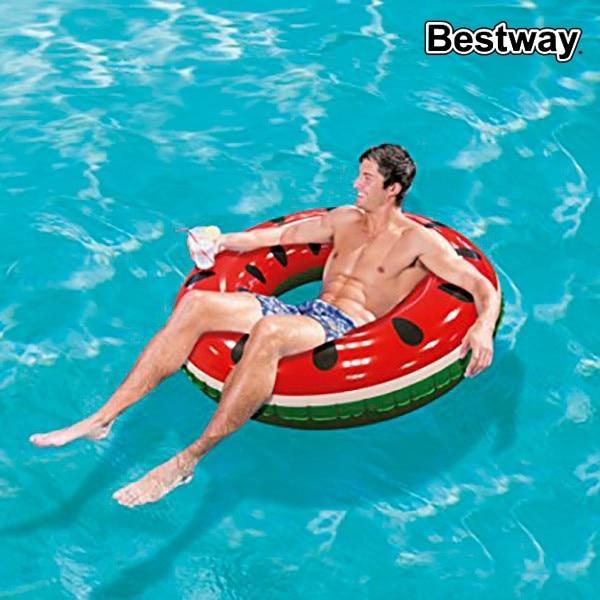 Flotador inflable para piscina Bestway 36121 (diámetro de 133 cm)