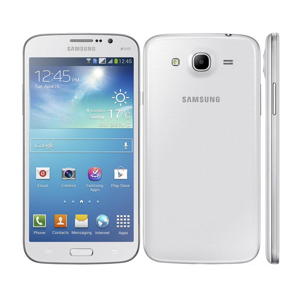 Восстановленные смартфоны Samsung Galaxy Mega Duos I9152 I9150 с двумя SIM-картами, 5,8 дюйма, 8 ГБ, 8 Мп, мобильные телефоны Android, разблокированные сотовые телеф...