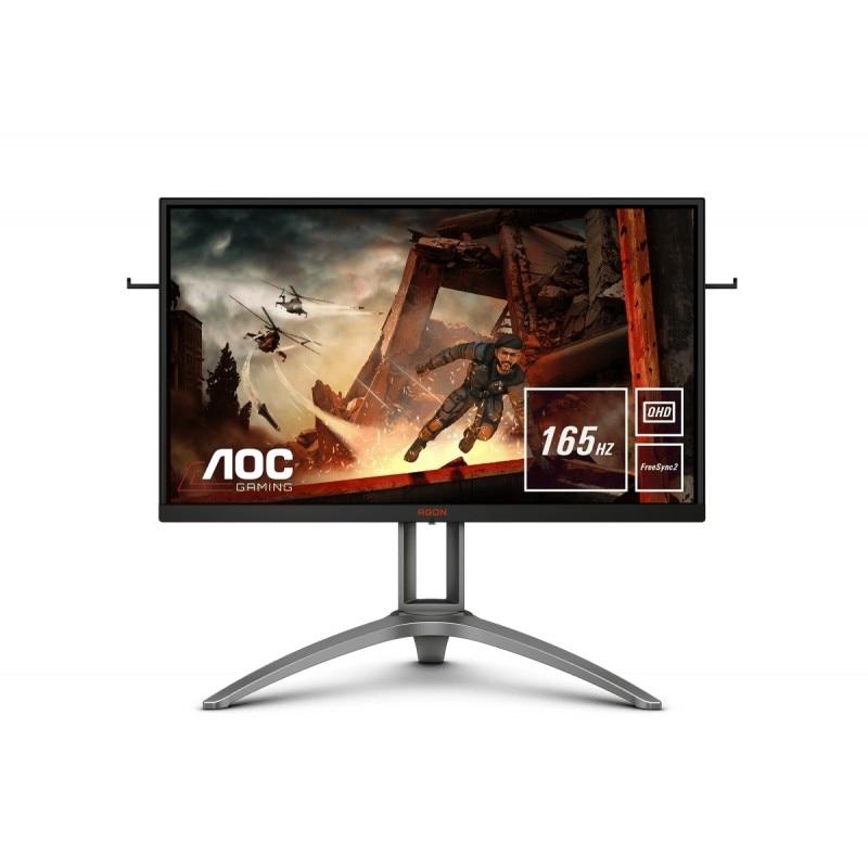 "AOC Gaming AG273QX pantalla para PC 68.6 cm (27"") 2560 x 1440 Pixeles Quad HD LCD Negro, Rojo"