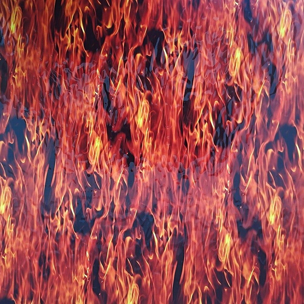 Frete grátis cnhgarts fogo aquaprint transferência de água impressão filme wtp chama hidrografia filme wtp019