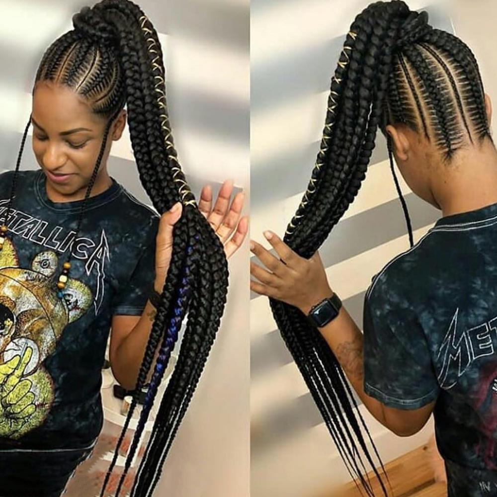 Pre Stretched Crochet Hair 41