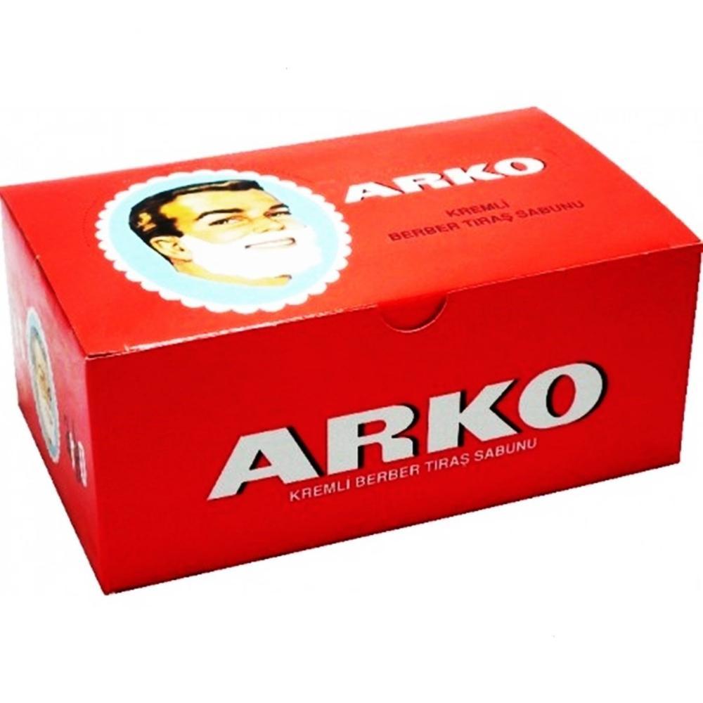 12 PCS ARKO SHAVING SOAP TO SOFTEN THE BEARD COMFORTABLE SHAVING QUALITY SOAP