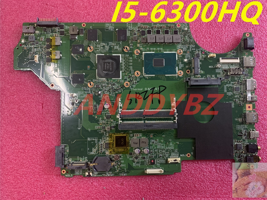 MS-16J51 VER 1.0 for MSI MS-1795 MS-16J5 GE62 GE72 PE60 PE70 LAPTOP motherboard I5-6300HQ AND GTX950M DDR4 100% working OK