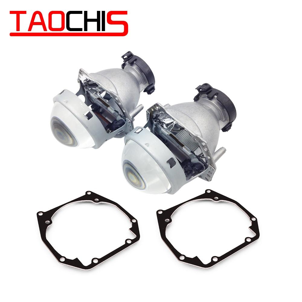 Adaptador de marco de transición de estilo de coche TAOCHIS Hella 3R G5 soporte de retroadaptación de lente de proyector para OPEL OMEGA B2 1999 - 2003