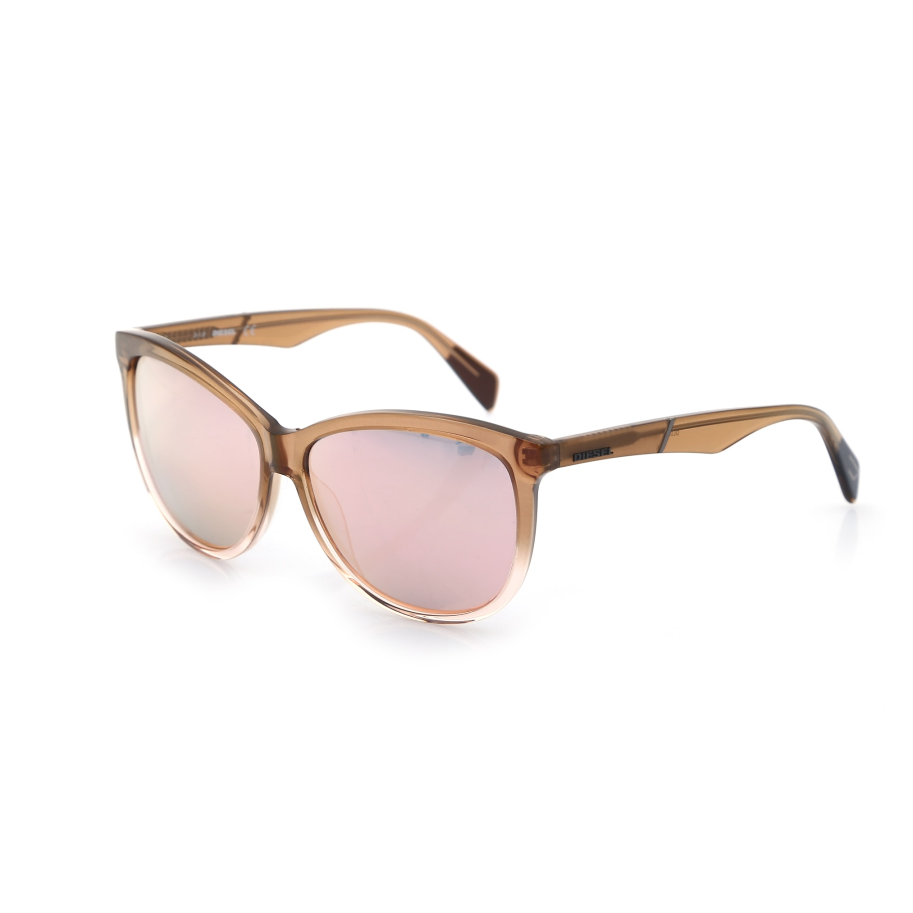 Gafas de sol para mujer dl 0221 77l color hueso orgánico oval aval 59-13-140 diesel
