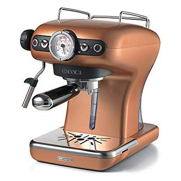 Expresso máquina de café manual ariete 1389/18 0,9 l 15 barra 850 w cobre