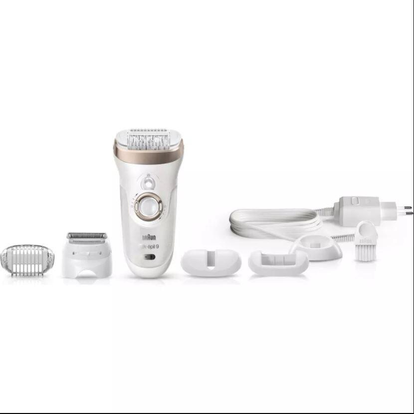 Braun Silk-epil 9  9561 Epilator 6 Additional Piece  Wet and Dry  Wireless  epilator/Hair Removal  Women 'S Care enlarge