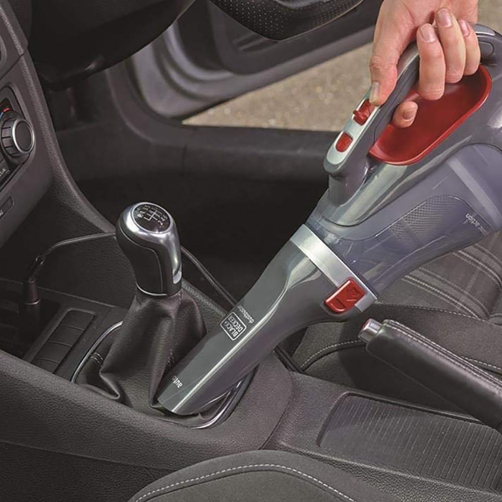 Black Decker ADV1200 12V/12.5Watt Car Cleaner, Practical and Easy To Use, Car Cleaner enlarge