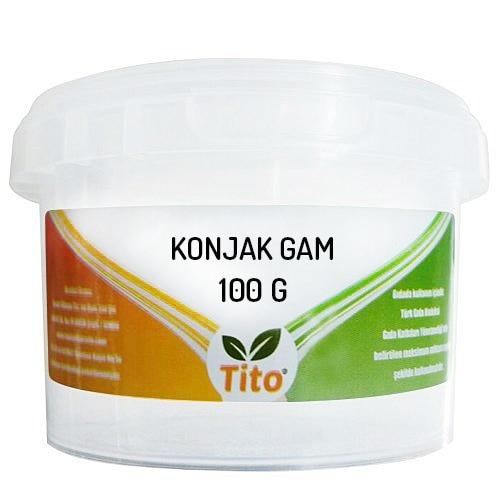 Тито гамма Konjac Glucomannan (Konjac Gum) E425 100 г