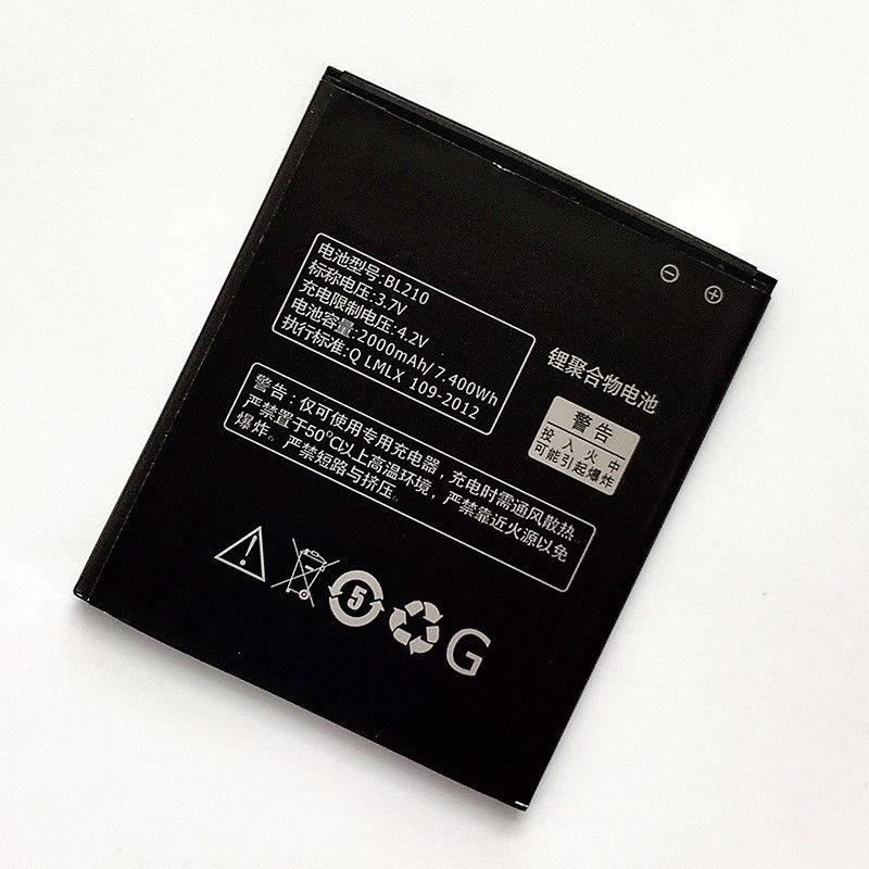 Batería LENOVO BL210.High calidad batería de la batería de Li-Ion 2000mAh Lenovo S820 Lenovo A750E Lenovo A770E Lenovo A656 Lenovo A6