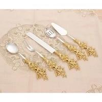 kitchen serving spoon 5 piece metal spoon serving utensils