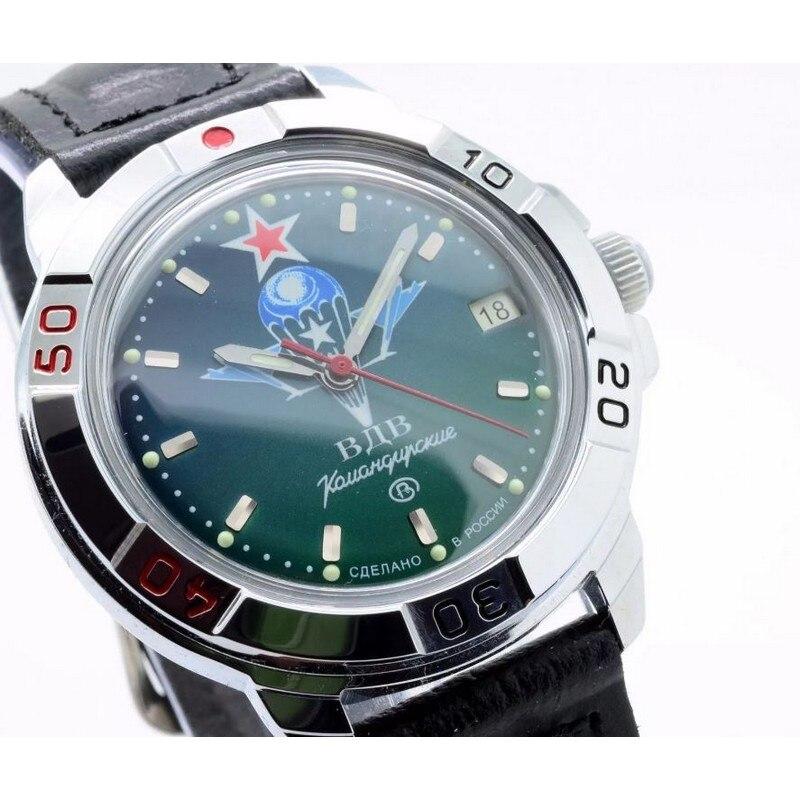 Relógio vostok commander 431021 pára-quedistas aéreos (airborne) russo