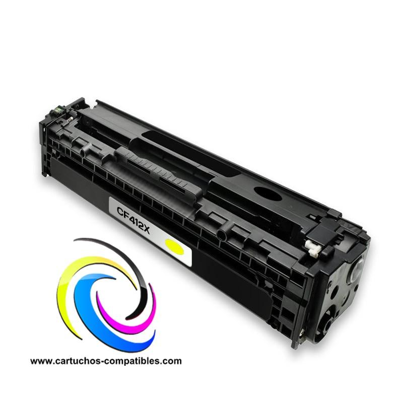 HP LaserJet Pro M452 CF412X Amarelo M452dn M452nw M377 M377dw M477 M477fdn M477fdw M477fnw CF410X CF411X CF413X CF410A CF411A C