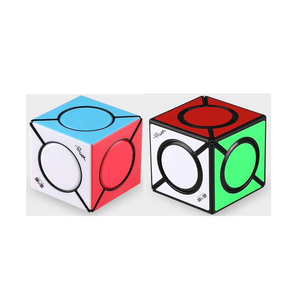 Iq-cubos fangyuan qiyi seis ponto velocidade cubo mágico cubos de quebra-cabeça profissional brinquedos educativos para crianças presente cubo magico