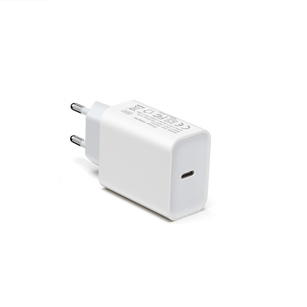 20W USB Type-C charger, wall adapter, Universal Portable Fast Charging phone charger for iPhone