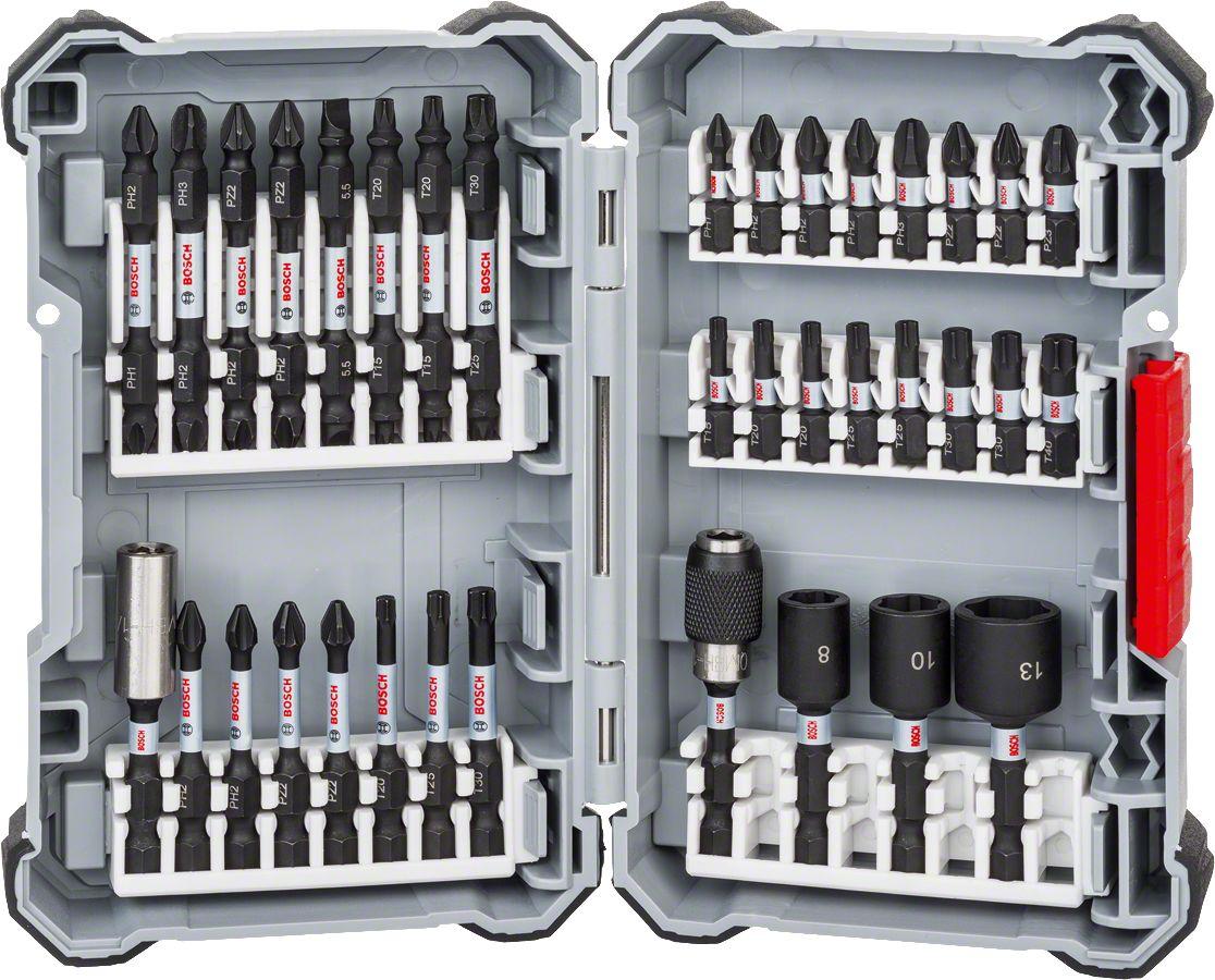 German Bosch Professional Impact Ctrl 36 Piece Mixed Set Drill Bit Original Compact Engineering Industrial Heavy Duty Jobs