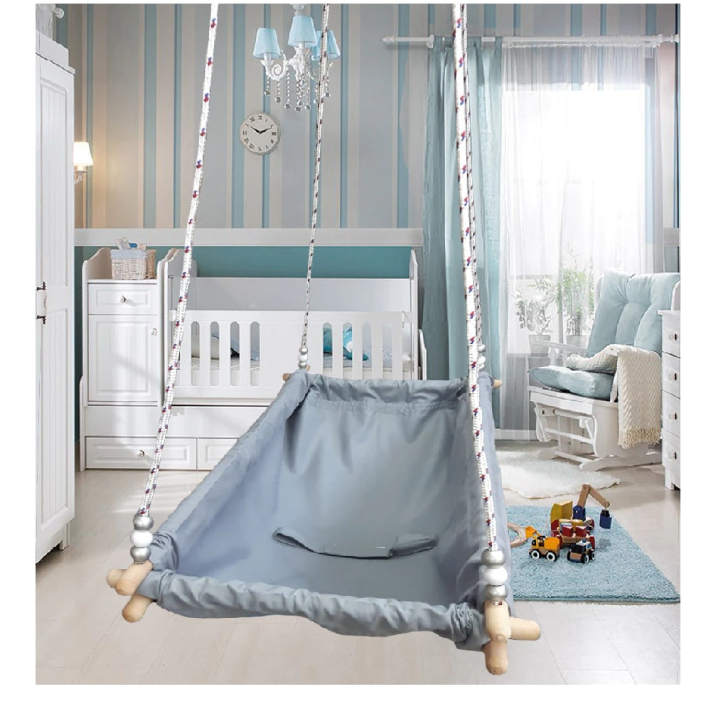 Baby Hammock Baby Cribs Cotton Fabric Comfortable Sleeping Hanging Basket Nest Newborn Child Room Bed Cot Direct Shipping enlarge
