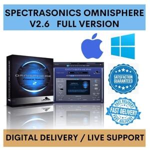 ✅Spectrasonics Omnisphere 2 v ✅ WINDOWS  ✅ FULL VERSION ✅ LIVE SUPPORT ✅ SAME DAY DELIVERY ✅