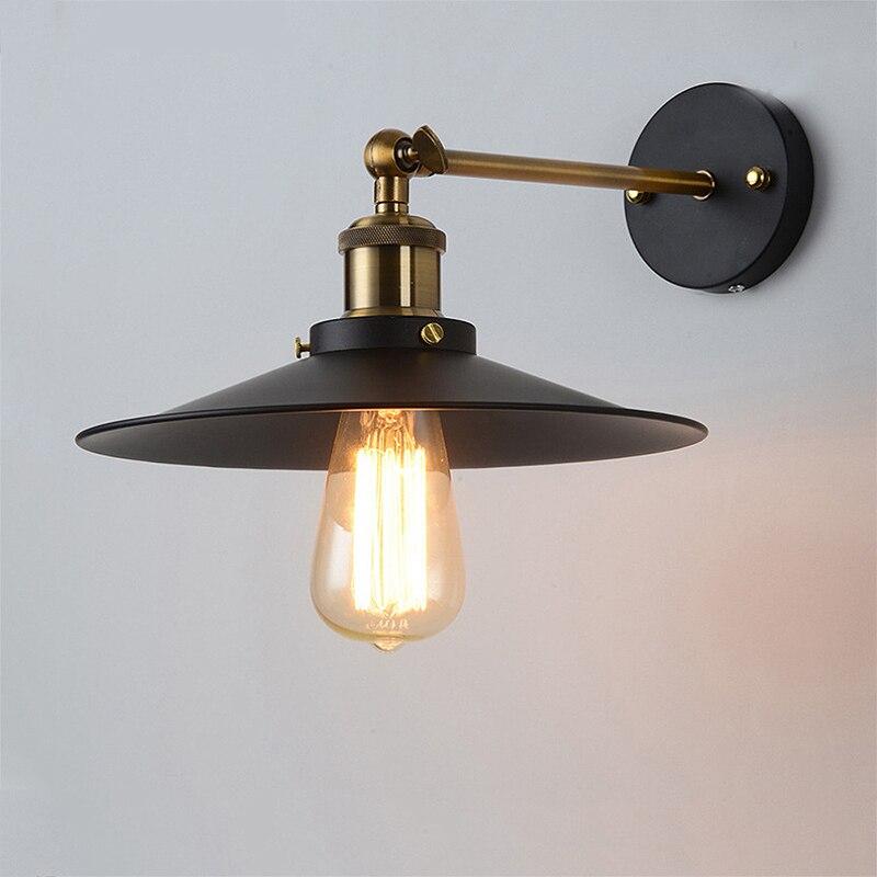 Vintage Wall Lamps Retro Sconce Indoor Lighting for Living room Bedroom Porch Corridor E27 Industrial Loft Light Fixtures