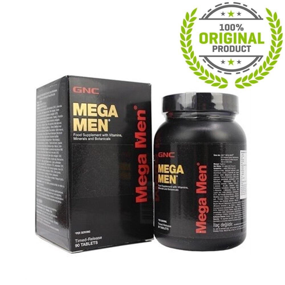 GNC Mega Men 90 Tablets Vitamin ORIGINAL PRODUCT