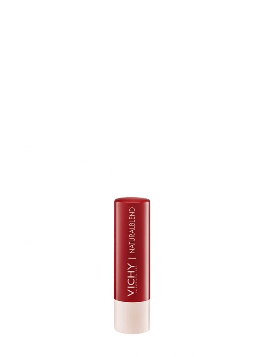 Vichy natural blend red 4.5g Bálsamo labial ultranutritivo con color.