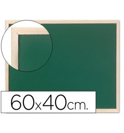 Ardósia verde Q-CONNECT marco wood 60x40 cm sem prateleira