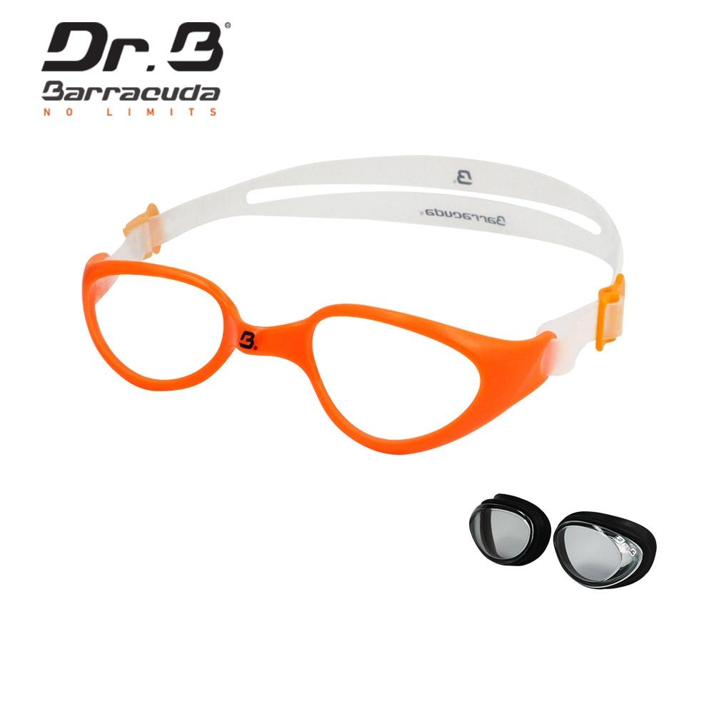 Детские плавательные очки «Barracuda Dr.B», оранжевые, 73195