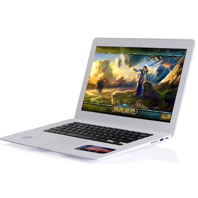 14.1inch Intel Pentium Fast Laptop 8GB RAM 750GB HDD Windows 10 Notebook Rusiness Arabic AZERTY Spanish Russian Keyboard