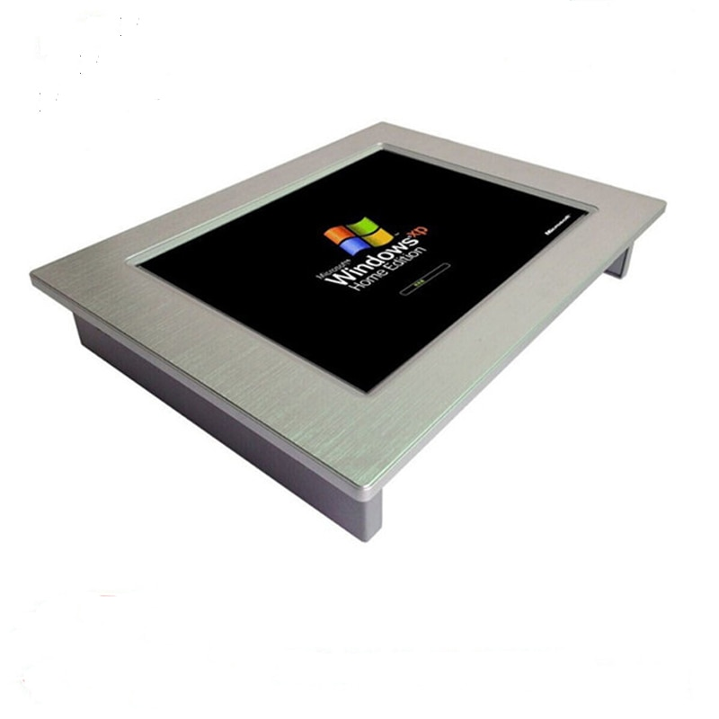 8.4 inch Touch screens Industrial Panel PCs 2*10/100/1000Mbps RJ45 LAN Rugged Panel PC 4Gb ram 64G SSD All in One pc enlarge