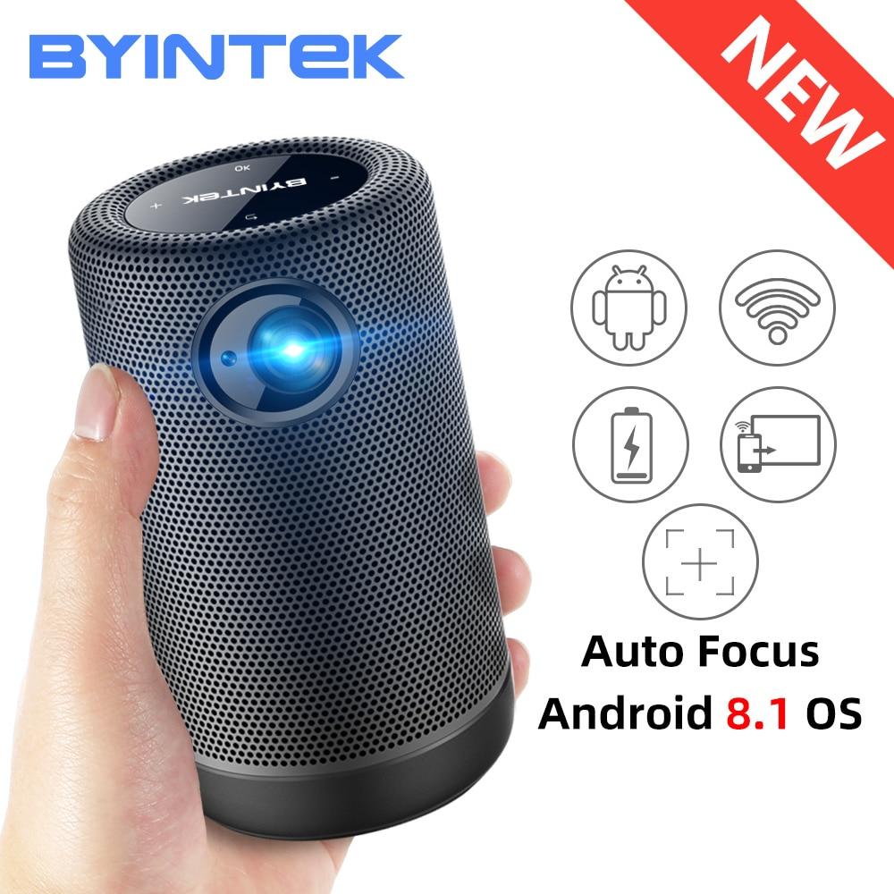 BYINTEK P30 Pocket Portable Smart Android WIFI Full HD 1080p TV Video LED DLP Mini Projector for 4K Cinema Smartphone